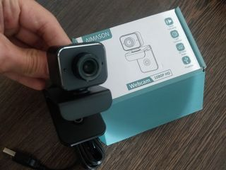 Webcam with Microphone, 1080p HD Web Cam for PC Desktop & Laptop with Mic, Web Camera for Streaming