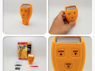 Tолщиномер лакокрасочных покрытий Richmeters RM-200 – это легкий и удобный в использовании прибор,
