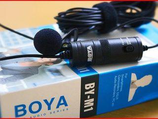 Microfon lavaliera Boya BY-M1, cardioid Boya BY-MM1