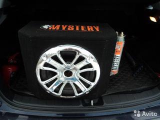 Активный Mystery 1200w со встроенным усилителем!+новые провода 125 евро