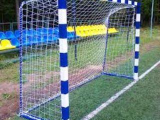 Плетём на заказ спортивные и заградительные сетки по индивидуальным размерам