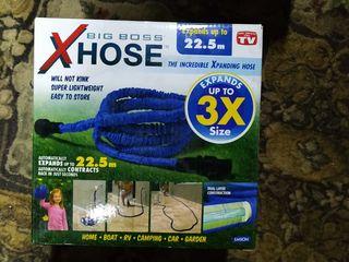 Усиленный садовый шланг для полива XHose 22,5м.