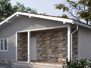 Строительство СИП домов в Молдове. Дачный дом со всеми удобствами.