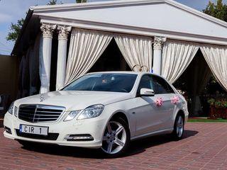 Lux Mercedes-Benz albe/negre nunti/delegatii