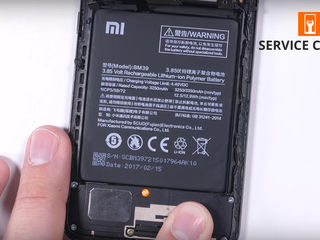 Xiaomi Mi 6 Не держит батарея, заменим без потерей!
