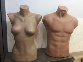 Манекены жен и муж