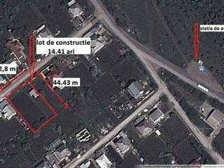 Colonita. Vind teren de constructie 14.41 ari, situat pe str. Tineretului. Toate comunicatiile.