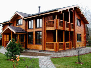 Дома деревянные из Сруба, Клееного бруса, Каркасные дома.