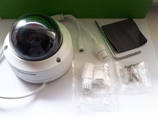 Hikvision set - 4 Camere video de 6MP IP cu inteligență  !!! metal - antivandal