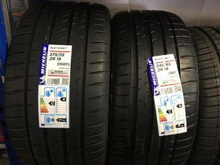 245/40 & 275/35 R19 Michelin!