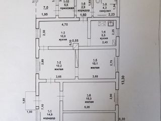 с. Гиска, котельцовый дом 101 кв.м, участок 8,3 сот., гараж 25,6 кв.м