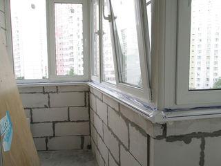 Расширение балконов в старых домах от 20 евро 1M2. Alungirea balconului, demolarea, reparatia balcon