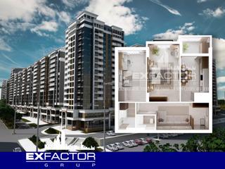 Exfactor Grup - Ciocana, toate planificările cu 2 camere in format 3D, la cele mai bune condiții!