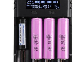 Аккумуляторы Liitokala NCR18650B 3400 mAh, Зарядка (Быстрая и мощная - 2 Ампер) Astrolux VC04