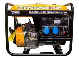 Генератор бензиновый 2.5кВт 220В HAGEL 3500CL