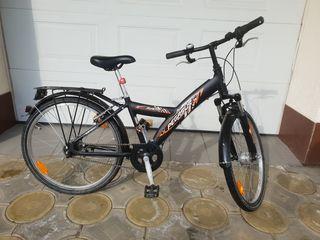 Bicicletă copii: 8-14 ani. Pegasus.