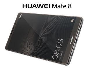 Huawei mate 8 цвета Silver dual-sim новый в коробке 350 euro.
