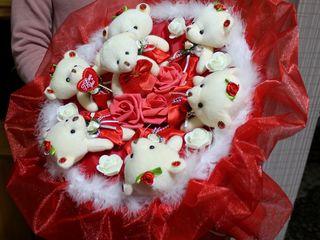 Buchete din jucarii букеты из игрушек ,из конфет есть в наличии