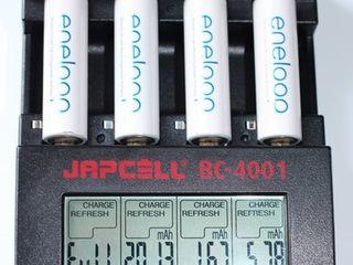Зарядки Technoline BC-700 Japcell Maha LiitoKala Xtar VP4. Аккумуляторы Panasonic, Eneloop, Fujitsu.
