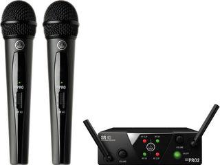 Микрофоны и радиомикрофоны новые различных фирм