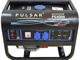 Generator pe benzina 3,2 kW Pulsar PG-4000 cu livrare gratuită în toată țara. Garanție inclusiv.