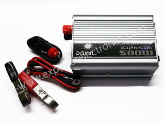 Инвертор Doxin 500W из DC 12V в AC 220V - 500 lei новыи в упаковке