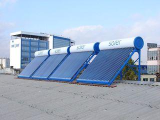 Солер - экономичный солнечный водонагреватель