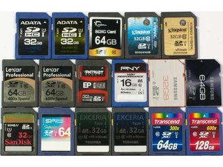 Карты памяти Transcend - Kingston! microSD и SD - новые - гарантия !