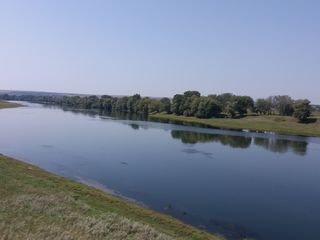 Участок на берегу Днестра, с. Кошница 22,6 соток. Молдавская сторона, 26 км от Кишинева!!!