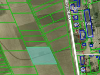 Vind teren agricol in comuna Bubuieci, cu perspectiva de constructie 35 000 euro.Negociabil!