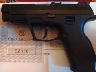 Пистолет CZ-110 калибр: 9mm (Чехия).