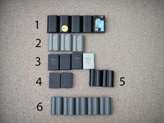 Baterii Canon , Nikon (Originale)