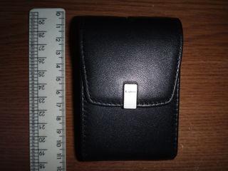 Vind cutie din piele pentru aparatele foto Canon PowerShot,Продам кожаный чехол для Canon PowerShot