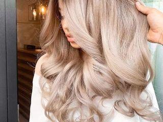 Окрашивание волос в один тон или натуральный оттенок