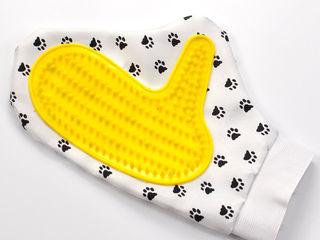 Перчатка для снятия шерсти с домашних животных!