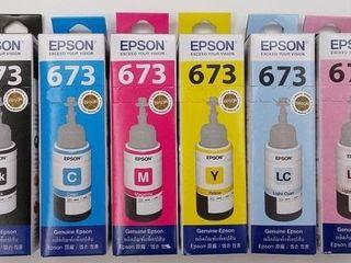 Cerneala Originala p/u Epson L800,L805,L1800,L200,210,366,386, /Toner Panasonic DP-18100/DP-2010E