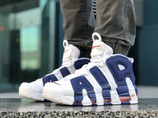 Nike Air More Uptempo White & Blue