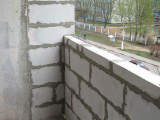 Alungirea balconului demolarea, repararea balconului acoperiselor. Renovarea și extinderea balcoane