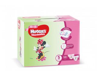 Huggies подгузники Ultra Comfort Disney Box 5 для девочек, 12-22кг 105шт