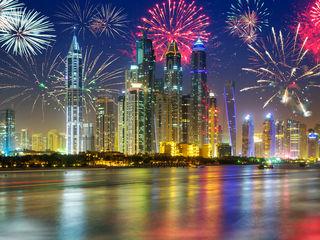 Revelion de vis în Dubai, orașul care bate toate recordurile