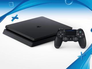 PS4 Slim + 20 игр (новые, гарантия) Доставка бесплатно!