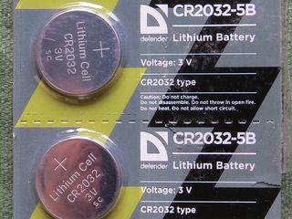Батарейка элемент питания для компьютера CR 2032 3V
