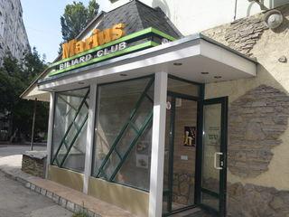 Vanzare Restaurant, Sala de biliard, Narghilea