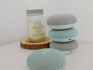 Умная колонка Google Home Mini Difuzor inteligent Google Home Mini cu asistent vocal Asistent Google