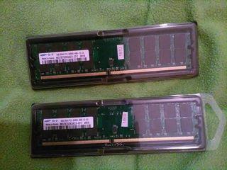 RAM DDR2 4GB-299 lei, DDR3 4GB -349 lei
