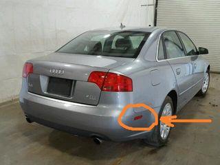 Audi a4,USA катафоты задних бамперов