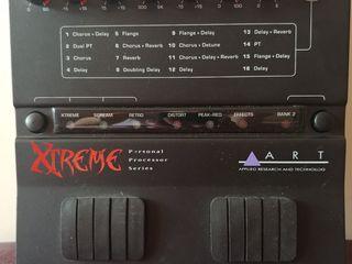 ART Xtreme guitar processor