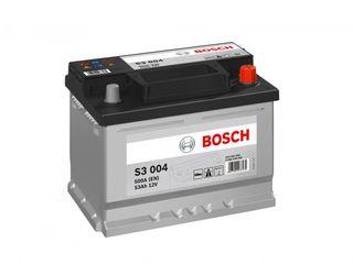Acumulatoare Bosch! Livrare, garantie, instalare gratis! Credit!