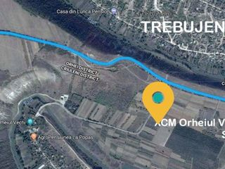 Se Vinde lot de teren Orheiul Vechi Butuceni la intrare ! Posibil de executat constructie, vilă !