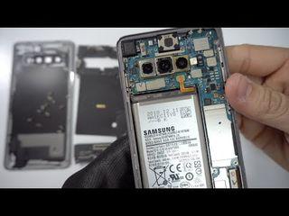 Samsung Galaxy S10 Plus АКБ сдает позиции? Заберем и заменим в короткие сроки!